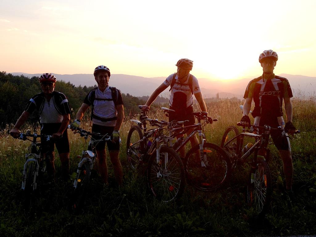 Grenzenloses Mountainbiken
