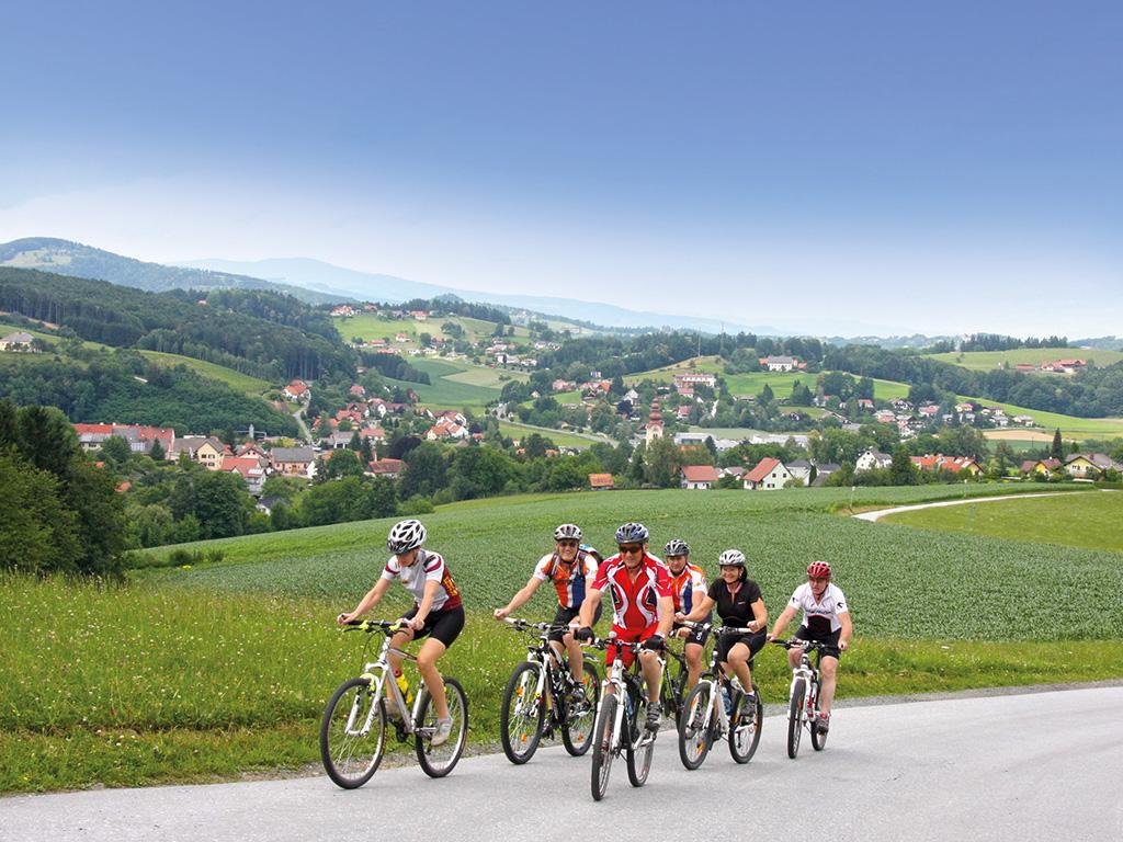Grenzenloses Mountainbiken, Eibiswald