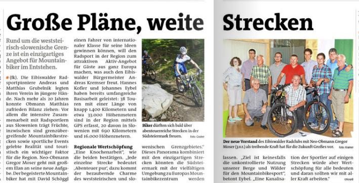Radclub Eibiswald Woche Deutschlandsberg