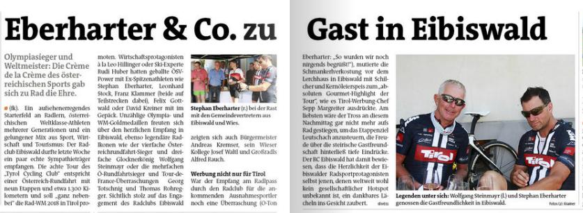 Eberharter & co zu Gast in Eibiswald